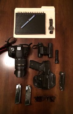 EDC and essentials of any P.I.