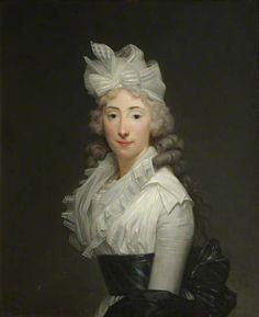 Harriott Manningham (d.1854), Mrs Charles Yorke by Henri-Pierre Danloux, 1793