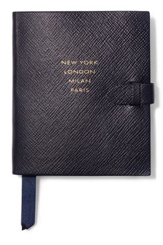 Smythson | Runway Notes textured-leather notebook | NET-A-PORTER.COM