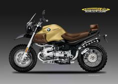 "BMW R 1150 ""DOWNTOWN SCRAMBLER"" on Behance"