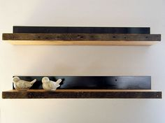 floating wooden shelves pictures