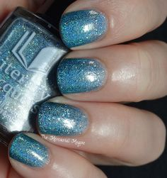 The Mercurial Magpie: Literary Lacquers Gradient for the 3rd Hampton Roads Nail Fantatics Meetup