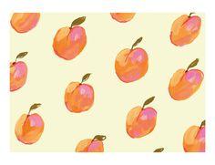 'Apricots' by KT Smail #art #prints #kitchen