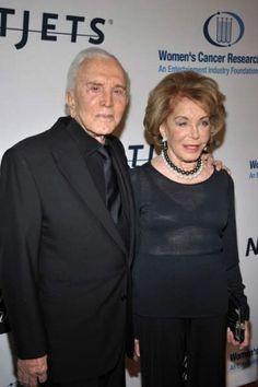 Kirk Douglas & Anne Buydens (55 years)