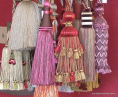 amazing passementerie handmade in France!
