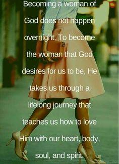 It's a process...I am God's working progress