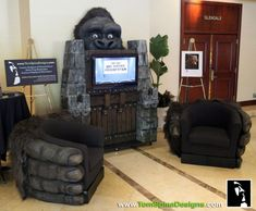 King Kong Themed Furniture For Home Theater