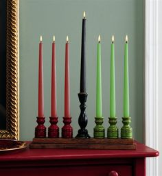 Kwanzaa (December 26 -- January 1)  Kinara Centerpiece http://www.officialkwanzaawebsite.org/index.shtml
