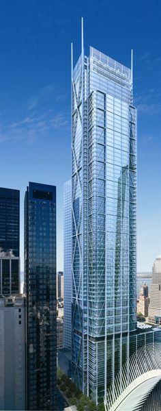NEW YORK | 175 Greenwich St. | 1,170' Pinnacle / 1,080' Roof | 80 FLOORS - SkyscraperPage Forum