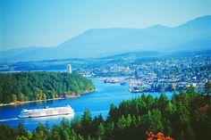 Charming and friendly, Nanaimo, BC, Canada. Harbour city, and namesake of the delicious/rich nanaimo bars.