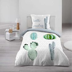 Luxusní povlečení pro mladé s potiskem Comforters, Blanket, Furniture, Home Decor, Cactus, Creature Comforts, Quilts, Decoration Home, Room Decor