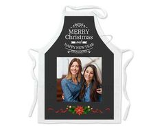 Grembiule da cucina con grafica natalizia