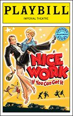 """""""New"""" Gershwin musical 'Nice Work If You Can Get It' opens on Broadway tonight"""