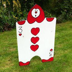 Mad Hatter Tea Party Ideas, Alice in Wonderland Croquet Lawn