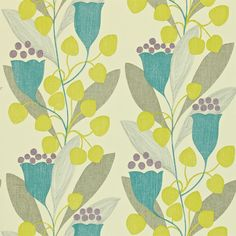 OMG אני מאוהבת Sanderson - Traditional to contemporary, high quality  designer fabrics and wallpapers | Products | British/UK Fabric and Wallpapers | Bellflower (DCFL211651) | Colour for Living Wallpapers
