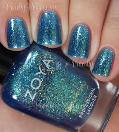 Zoya Muse | Summer 2014 Bubbly Collection | Peachy Polish