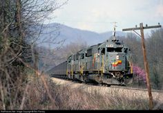 RailPictures.Net Photo: SBD 8514 Seaboard System EMD SD50 at Irondale, Virginia by Ron Flanary
