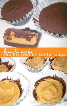 These 3-ingredient no-bake healthy and easy peanut butter cups will satisfy your sweet tooth without all of the consequences! #reeces #foodhack #clone