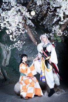 Momoren Cosplay added a new photo. Cosplay Characters, Cartoon Characters, Fictional Characters, Inuyasha Cosplay, Anime Cosplay, Seshomaru Y Rin, Inuyasha And Sesshomaru, Asuna, Best Cosplay