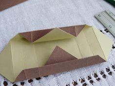 Gift origami box