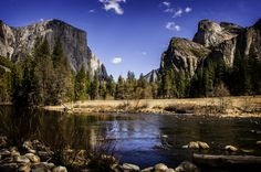 Yosemite Valley in the USA