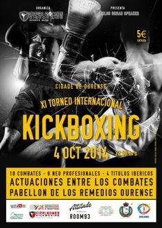 XI Torneo internacional de Kickboxing Cidade de Ourense en Pabellón dos Remedios, Ourense