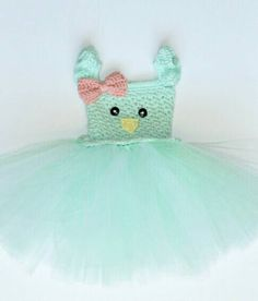 Hey, I found this really awesome Etsy listing at https://www.etsy.com/listing/269617377/easter-chick-tutu-dress-crochet-easter