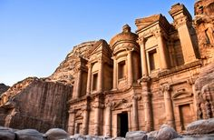 Petra, an archeological city in Jordan