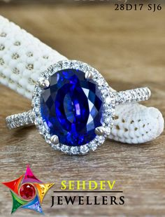 Anniversary Jewelry Engagement Ring Camilla blue sapphire Engagement Ring by ken and dana design Antique Engagement Rings, Engagement Jewelry, Engagement Ring Settings, Antique Rings, Or Antique, Pretty Rings, Beautiful Rings, Blue Sapphire Rings, Ruby Rings