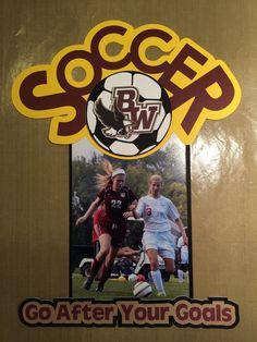 Soccer Locker Tag Sports Locker Decorations, Soccer Decor, Basketball Signs, Soccer Locker, Soccer Boys, Soccer Stuff, Soccer Treats, Soccer Gifts, Team Gifts