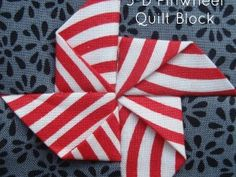 3 d pinwheel quilt block tutorial | patchwork posse | easy sewing projects and free quilt tutorials