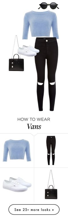 """""""..//../.../.."""" by anna-mae-equils on Polyvore featuring moda, Yves Saint Laurent, Vans, women's clothing, women's fashion, women, female, woman, misses e juniors"""