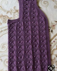 Knitting patterns, knitting designs, knitting for beginners. Ladies Cardigan Knitting Patterns, Knit Vest Pattern, Easy Knitting Patterns, Knitting Designs, Crochet Patterns, Knitting Stiches, Lace Knitting, Diy Crafts Knitting, Knitting For Beginners