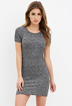 Ribbed Knit Bodycon Dress | Forever 21 - 2000183274 Size: XS