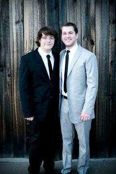 Daniella's little brother, Christian
