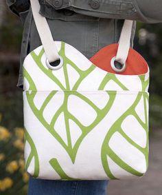 Sidekick Sling Bag - Go To Patterns  PatternForSale but I get the idea....hmmmm