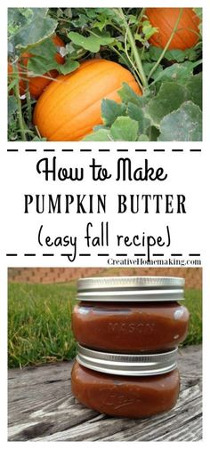 Easy pumpkin butter recipe for fall. Easy pumpkin butter recipe for fall. Pumpkin Butter, Canned Pumpkin, Pumpkin Spice, Apple Butter, Jam Recipes, Canning Recipes, Holiday Recipes, Chutney, Sauces