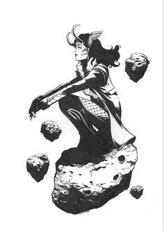 Loki ||| Loki: Agent of Asgard Art by leegarbettart