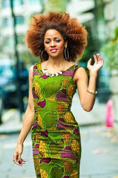 This is hawt. Ifediba-African-Print-Dress-2 peeks, afro hair Latest African Fashion, African Prints, African fashion styles, African clothing, Nigerian style, Ghanaian fashion, African women dresses, African Bags, African shoes, Nigerian fashion, Ankara, Aso okè, Kenté, brocade etc ~DKK