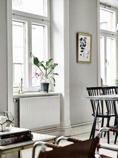 Grey apartment in Sweden | Hermoso departamento en grises | casahaus.net