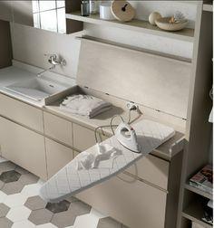 Ideas Bath Room Closet Laundry Ironing Boards For 2019 Laundry Room Layouts, Small Laundry Rooms, Laundry In Bathroom, Master Bathroom, Laundry Closet, Laundry Room Organization, Pull Out Ironing Board, Ironing Boards, Laundry Room Inspiration