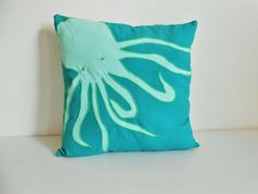 Hey, I found this really awesome Etsy listing at https://www.etsy.com/listing/228549373/octopus-decorative-pillow-throw-pillow