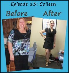 Colleen lost 120lb with Weight Watchers and exercise. Listen to her motivational story!