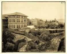 19th Century, Buildings, Ottoman, Louvre, University, College, American, Travel, Outdoor