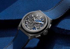 Zenith - Defy 21 Ultrablue | Time and Watches | The watch blog I Remember When, Cool Tones, Electric Blue, Ultra Violet, Chronograph, Color Pop, Two By Two, The Past, Watches