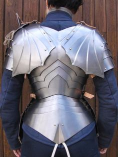 Shoulder wing Armour, not historical, however, heavy influences