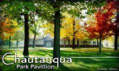 Chautauqua Park Pavilion in Pontiac, IL, - gorgeous!!! @Katie Razunas