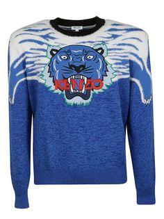 bdabd72ff KENZO TIGER SWEATER. #kenzo #cloth Kenzo, Knitwear, Logo Design, Knits