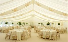 Ivory marquee