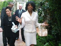 Christian Philanthropists Who Give Away Money - Oprah Winfrey